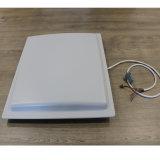 Programa de lectura integrado de la frecuencia ultraelevada RFID de la frecuencia ultraelevada de la mesa del rango largo de la tarjeta de la distancia 860-960MHz de la puerta de la antena de la frecuencia ultraelevada RFID