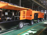 KAISHAN KSCY-550/13 Portable Motor Cummins diesel compresor de aire de tornillo