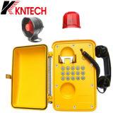 확성기를 가진 산업 도움 전화 파괴자 저항하는 방수 비상 전화