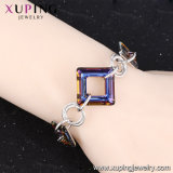 De Kristallen van Xuping van de Vierkante Dame van de Armband Swarovski, Armbanden van Turkije, de Recentste Armbanden van de Manier van Dames