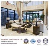 Festes Holz-Hotel-Möbel mit dem Wohnzimmer-Sofa eingestellt (YB-C330)