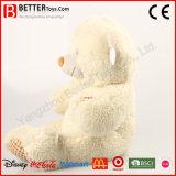 아이를 위한 귀여운 연약한 포옹 견면 벨벳 패치 장난감 곰 채워진 장난감