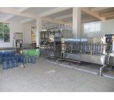 Mineralwasser-Flasche, die Maschinen-füllende Systems-Zeile bildet