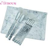 il sopracciglio professionale delle spazzole di trucco di scintillio 7PCS arrossisce spazzola del Eyeliner dell'orlo dell'ombretto