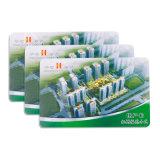 De vrije Slimme Kaart van de Druk Cr80 RFID van de Douane van de Steekproef voor Toegangsbeheer