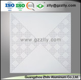 Fabricante punzonado de chapa de aluminio perforado techo junta con el SGS calificado