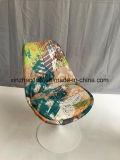 금속 기초를 가진 직물 회전 의자