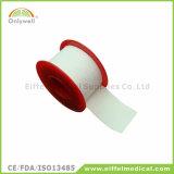 Fita adesiva respirável médica de óxido de zinco do algodão