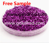 De plastic van Korrels van Masterbatch Purpere Violette 25kg/Bag pp Korrels van de Kleur
