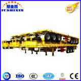 2/3 remorque de lit plat de transport de conteneur des essieux 40-60tons Cimc 40FT