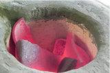 Freqüência média de fusão do forno de aquecimento de fusão por indução de prata cobre ouro forno de fusão de aquecimento por indução