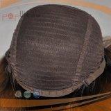 Cabelo humano nenhuma peruca da queda da faixa do judeu da franja (PPG-l-01639)