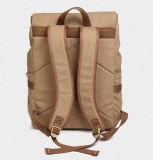 キャンバスの二重ショルダー・バッグの大学生の通学かばん毎日旅行袋の余暇のパック