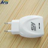 Singolo caricatore rapido bianco del telefono mobile del USB