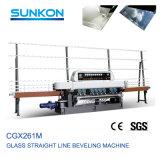 Goedkope Prijs 9 het Rechte Glas Beveller van het Glas van Motoren van Fabriek Foshan (CGX261M)