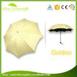 Le manuel ouvrent 3 le petit parapluie du fois 21inch 8ribs