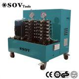 24 sistemi di controllo di sollevamento sincroni del PLC martinetto idraulico dei punti