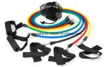 11 pcs ensemble de la bande d'exercice de la résistance des équipements de gym