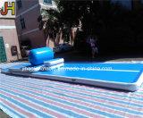 Het Tuimelende Spoor van de Lucht van Dwf, de Opblaasbare het Springen Mat van de Vloer voor Gymnastiek