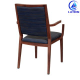 卸し売り食事の家具のアルミニウム金属木は椅子を好む