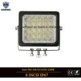 100W Lichten van de vierkante LEIDENE de DrijfVlek van het Werk in 12V 24V IP67 voor van de Vrachtwagen van de Auto van de Weg