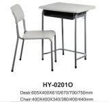 Haltbarer Schulmöbel-Klassenzimmer-Schreibtisch-Stuhl