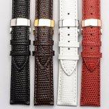 Pele genuína de alta qualidade Lizard pulseiras de relógio