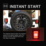 Clignotants 20W Euro USA Connecteur pour feu arrière LED Jeep jk