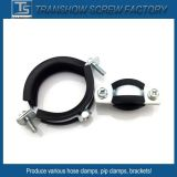 10-168mm EPDM as braçadeiras do tubo de aço colado