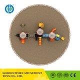Custom красочные коммерческих дошкольных игровая площадка для детей на улице поворотного механизма
