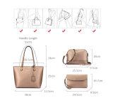 3PCS vastgestelde Handtas de Beurs van de Zak van Crossbody van Dame Composite Bag Large Capacity Totalisator (WDL0955)