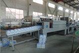 Machine à emballer linéaire complètement automatique d'emballage en papier rétrécissable de combinaison de bouteille