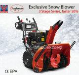 """新技術420cc 30の""""幅3の段階の手押し式雪かき機"""