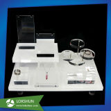 Acrylzahnbürste-ovaler Verfassungs-Pinsel-Halter-kosmetischer Bildschirmanzeige-Speicher-Standplatz