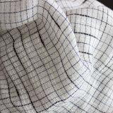 Le Tencel Polyetser lin mélangé vérifié Tissu Fil teints