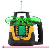 nível giratório do laser do feixe 400hvg verde com função da inclinação do ajuste