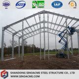 Luz de prefabricados Sinoamce Galpão de transformação da estrutura de aço