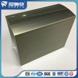 Bâti en aluminium d'électrophorèse d'OIN 6063 Champagne pour le guichet de porte