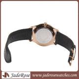 Кожаный способ ультратонкое Ladieswatch воды wristwatch полосы упорный