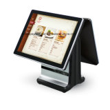 "POS System 또는 Supermarket/Restaurant/Retail (15 "" +15 "")를 위한 15의 "" +15의 "" 인치 Icp Ea11s Android Double Capacitive Touch Screen Cash Register"