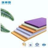 écrans antibruits de fibre de polyester d'épaisseur de 3mm, panneau ignifuge pour le mur et plafonds