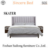 American Style Fabric Bed Bedroom Furniture Sk22