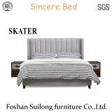 Американский стиль ткань кровать спальня мебель SK22