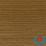 Papel impregnado melamina del grano de madera de roble para el guardarropa (4789-17)