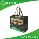 La promotion réutilisent le sac à provisions non tissé stratifié de pp