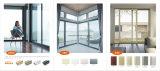Perfil de la construcción de la ventana y puerta corrediza de aluminio