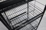 speichert metallische Spezialität des Draht-4-Layer Produkt-Regal-Supermarkt-Gebrauchsgut-Bildschirmanzeige-Zahnstange