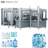 Botella de agua potable automático de llenado de líquido de lavado de la planta de limitación de la máquina