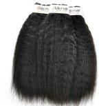 Peruanisches verworrenes gerades unverarbeitetes Jungfrau-Haar für Salon (Grad 9A)
