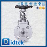 Фланцевый Didtek поддельных запорным клапаном с маховик
